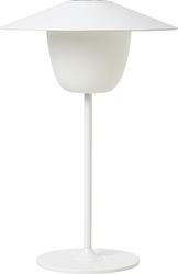 Lampa wisząca i stołowa ani biała