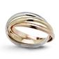 Staviori pierścionek. żółte, białe, różowe złoto 0,585.