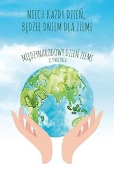 Międzynarodowy dzień ziemi - duży plakat