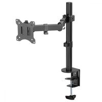 Maclean uchwyt biurkowy do monitora lcd mc-883 17-32 cale 8kg vesa 75x75 oraz 100x100 podwójne ramię