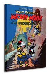 Mickey mouse ye olden days - obraz na płótnie