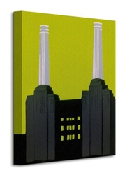 Battersea power station - obraz na płótnie