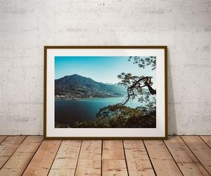 Danau Buyan - plakat premium Wymiar do wyboru: 50x40 cm
