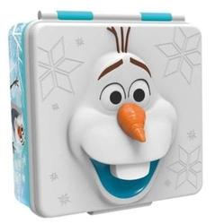 Lunch box pojemnik śniadaniowy frozen śniadaniówka kraina lodu 3d olaf
