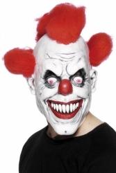 Maska zły klaun clown halloween