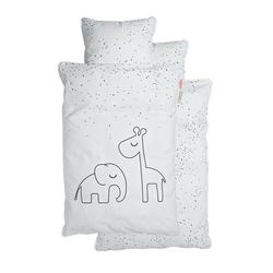 Pościel dziecięca done by deer dots 1400x70 + 45x40 - biała
