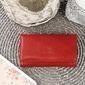 Krenig classic 12035 czerwony skórzany wizytownik - czerwony