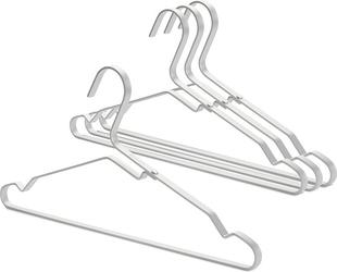 Wieszaki na ubrania brabantia srebrne 4 szt.