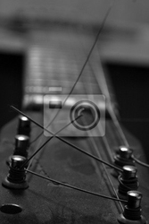 Plakat gitara