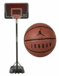 Zestaw do koszykówki kosz NBA Lifetime Memphis + Piłka do koszykówki Jordan Ultimate 8P