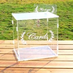 Pudełko na koperty ourwarm transparent