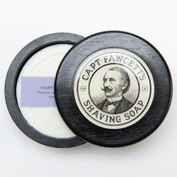 Captain fawcetts luxurious - męskie mydło do golenia w drewnianym tyglu 110 g