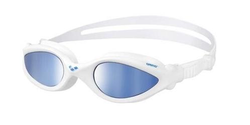 Okulary arena imax pro mirror white-blue-blue
