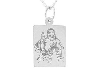 Medalik srebrny z wizerunkiem jezusa med-jezus.m-3