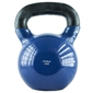 Hantla winylowa żeliwna kettlebell 32 kg - hms - 32 kg  niebiesko-czarny