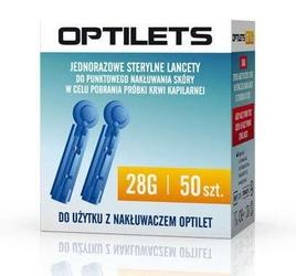Lancet optilets x 50 sztuk