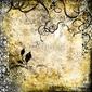 Plakat na papierze fotorealistycznym streszczenie tło