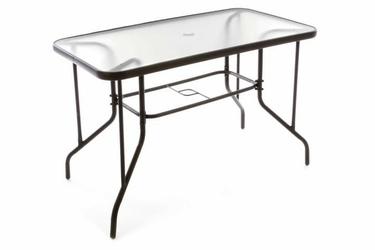 Stół ogrodowy szklany na taras 110x60x72 cm szkło hartowane