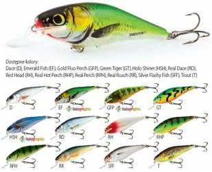 Wobler Salmo Executor Emerald Fish EX5SREF