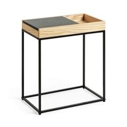Drewniany stolik diane 55x30 cm
