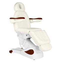 Fotel kosmetyczny elektr.  eclipse 3 siln. kremowy