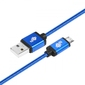Tb kabel usb-micro usb 1.5 m niebieski sznurek