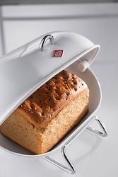 Pojemnik stalowy na pieczywo czerwony single breadboy wesco 222101-02