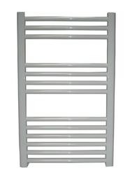 Grzejnik łazienkowy york - wykończenie zaokrąglone, 400x800, białyral - paleta ral