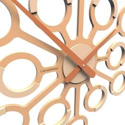 Zegar ścienny big bang calleadesign jasnobrzoskwiniowy 10-107-22