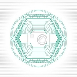Naklejka vector design element dekoracyjna