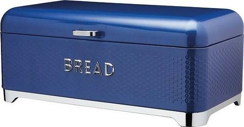 Pojemnik na pieczywo lovello z tłoczeniem niebieski