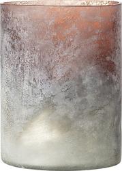 Świecznik bloomingville szklany 17 cm