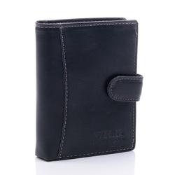 Elegancki portfel męski czarny ga51 - czarny