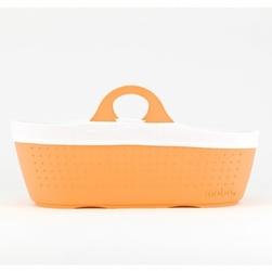 Moba moses basket tangerine oddychający kosz mojżesza do kołyski