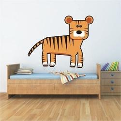 Tygrys 12 naklejka samoprzylepna