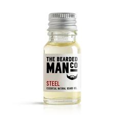 Bearded man co - olejek do brody stal - steel 10ml