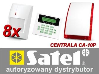 Alarm satel ca-10 lcd, 8xgraphite, syg. zew. sp-4003 - możliwość montażu - zadzwoń: 34 333 57 04 - 37 sklepów w całej polsce