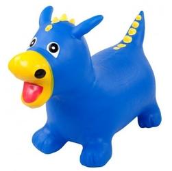 Gumowy skoczek smok - niebieski