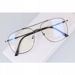 Okulary komputerowe ochronne zerówki filtr blue light 2547-5