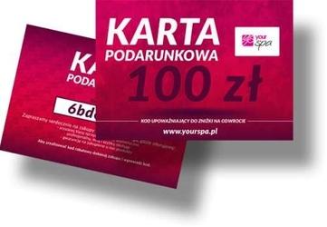 Karta podarunkowa 100zł