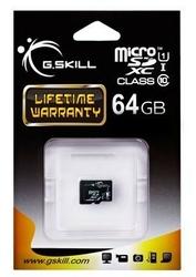 G.SKILL Micro SDXC 64GB Class 10 UHS-I