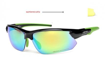 Okulary arctica s-293b wymienne szkła lustrzane