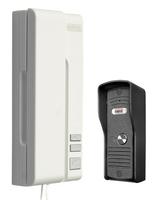 Domofon eura adp-31a3 uno bianco 1-rodzinny biały mała kaseta zewnętrzna - szybka dostawa lub możliwość odbioru w 39 miastach