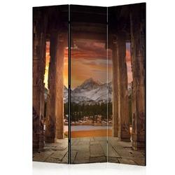 Parawan 3-częściowy - szlakiem skalistych świątyń room dividers