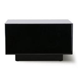 Hk living :: stolik lustrzany block czarny, rozm l