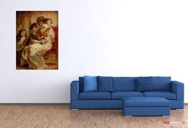 helena fourment z dziećmi - peter paul rubens; obraz - reprodukcja