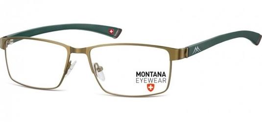 Zielone oprawki optyczne montana mm613f