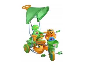 Rower trójkołowy tygrysek 2880 zielony