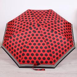 Parasol składany doppler pa142 czerwony - czerwony