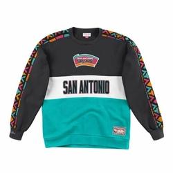 Bluza Mitchell  Ness Leading Scorer Fleece Crew San Antonio Spurs - FCNKDF18025-SASTEAL - San Antonio Spurs-